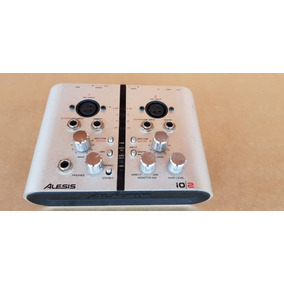Placa Interface M Audio Alesis Io2 (=m Track Plus) 2x2 Usb