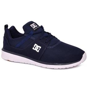Tênis Dc Shoes Heathrow Azul Marinho