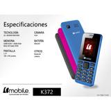Teléfono Barato Bmobile K372 Cámara Linterna Radio