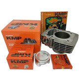 Kit Cilindro Completo Kmp Bros Fan Titan Cg 150 P/ 220c 70mm