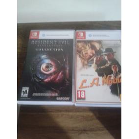 Jogos Nitendo Switch L.a Noire Resident Evil