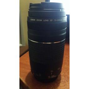 Lente Telephoto Canon Ef 75-300mm F/4-5.6 Iii