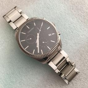 Reloj Calvin Klein Alliance Chrono 42mm Zafiro Swiss Made