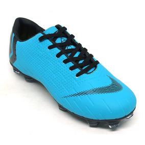 Nike Mercurial Vapor Iv Branca Com Azul - Chuteiras no Mercado Livre ... e5524729ff9c6