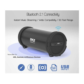 Corneta Portatil Pyle G6 Bluetooth Mp3 Pendrive Aux 3.5mm