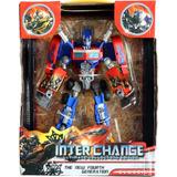 Muñeco Transformer Optimus Prime Interchange Robot