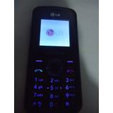 Celular Lg Kp109 Op Claro Funcionado Sem Carregador N0034