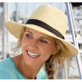 988fd3153f10a Sombrero Havana Tipo Panamá Mujer Protección Solar Upf 50+