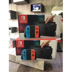 Nintendo Switch Neon Americano
