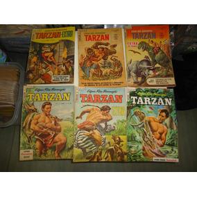 Coleção Tarzan 3ª Série Ebal Quase Toda Em Estado De Banca