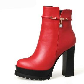Tacones De Punta Gruesa - Zapatos para Mujer en Mercado Libre Colombia a00785e0b17b