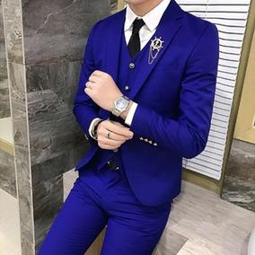 Blazer Traje De Hombre Moda 2019