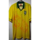 dd548459eb Camisa Seleção Brasileira 1994 ( Retro ) - Futebol no Mercado Livre ...