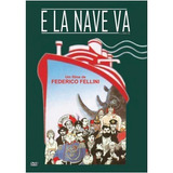 Dvd - E La Nave Va - Federico Fellini * Frete R$ 9,00