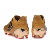 Chuteira Campo adidas X 16 Purechaos Fg Dourada Frete Grátis cb623f473c08b