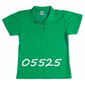 2ea0aab45d Kit Camisa Pólo Feminina Sem Bolso - Ref. 8378 Kit 8 Peças