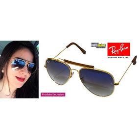 70f6694938940 Óculos Ray Ban Caçador Azul - Óculos no Mercado Livre Brasil
