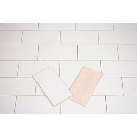 Azulejos Ceramicos Subway Blanco Mate Liso 7.5x15 Oferta