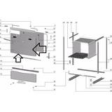 Vidro Externo Forno Electrolux 56esb 56se 56sl 56ut 70294399