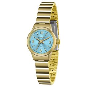 3177ee9d3bf Relogio Lince Feminino Fundo Azul - Relógios De Pulso no Mercado ...