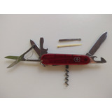 Canivete Climber Rubi Translúcido Victorinox