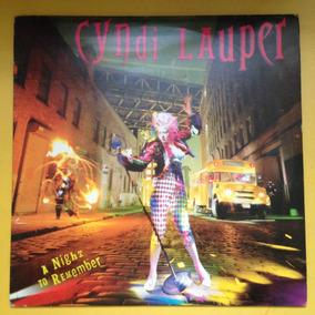 Lp Cyndi Lauper . A Night To Remember - Com Encarte