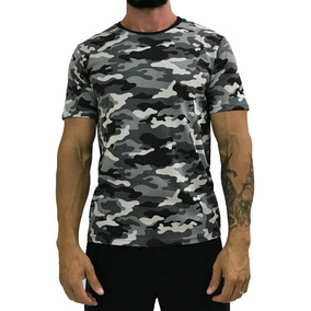 Camiseta Masculina Camuflado Camuflagem Camisa T-shirt Blusa 39532383887