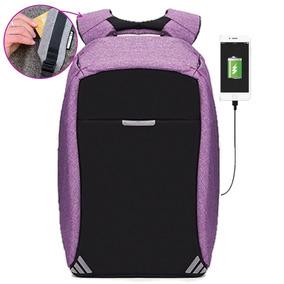 Mochila Backpack Antirobo Original Impermeable Powerbank Msi