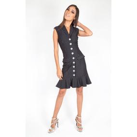 Vestido Tuxedo Reina Diaz 524640