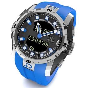 82b59912210 Relógio Roamer Trekk Master Expedition Swiss Made Safira