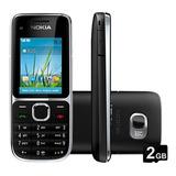 Celular Nokia C2-01 Lacrado,3g,nacional, Desblq,cartão,radio