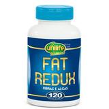 Fat Redux - Fibras E Algas - 600mg 120 Cápsulas - Unilife