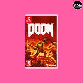 Doom - Nintendo Switch Mídia Física Lacrado Pronta Entrega