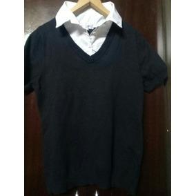 Buzo Con Camisa Superpuesta Lolita Camisas Hombre - Ropa 94cc573878178