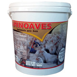 Aminoaves 50 Kg - Núcleo Para Ração + Brinde - Ven: Ago/2020