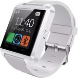 Smartwatch Blanco Reloj Bluetooth U8 Android Iphone Samsung
