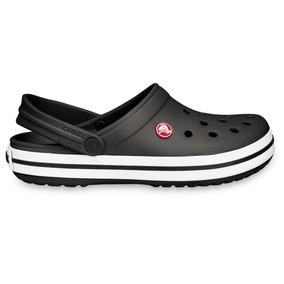 Crocs Crocband Originales Black Negro - Crocs Uruguay