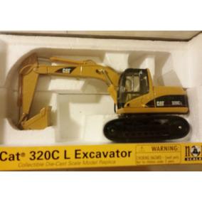 Norscot Cat 320c L Hydraulic Excavator 1:50. Import Usa