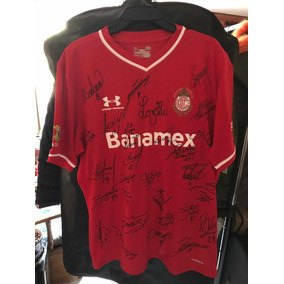 07d46e6a9e588 Camiseta Del Toluca Autografiada en Mercado Libre México