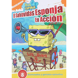Bob Esponja El Salvavidas Esponja En Accion 8 Episodios Dvd