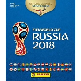 Álbum Completo Copa Do Mundo 2018 Rússia 682 Cromos Colados