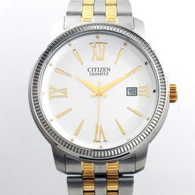 Reloj Hombre Citizen Bi0984-59a Cuarzo Acero 2 Tonos