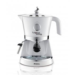 Cafetera Express Y Capsulas Monodosis Moka Ariete Aroma