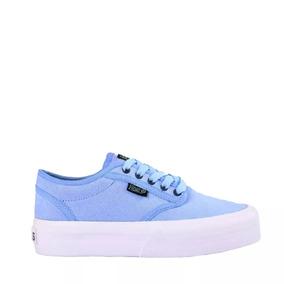 b90be8d1c16 Zapatillas Vans Mujer Nuevas - Zapatillas Vans de Mujer Azul claro ...