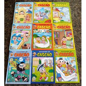 Kit Almanaque Do Cascão (9 Edições)