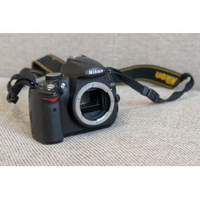 Nikon D5000 Com 34 Mil Cliques - Muito Bem Conservada!