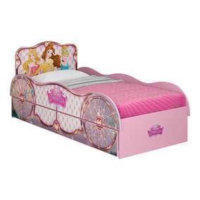 Cama 1 Plaza Disney 13153 Bicama Princesas Rosa
