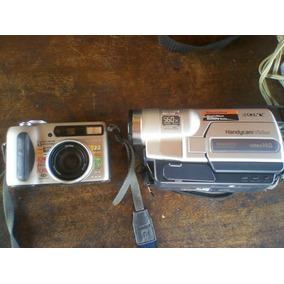 Cámara Sony Dsc-s75 , Vídeo Cámara Sony Ccd-trv318 Ntsc