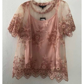 Blusa Transparente Duplan