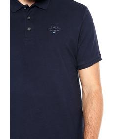 Camisa Polo Ellus Concept Azul-marinho Original